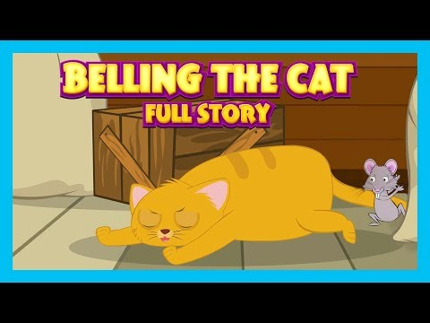Belling The Cat  Full Story For Kids In English - Kids Hut Story Compilation