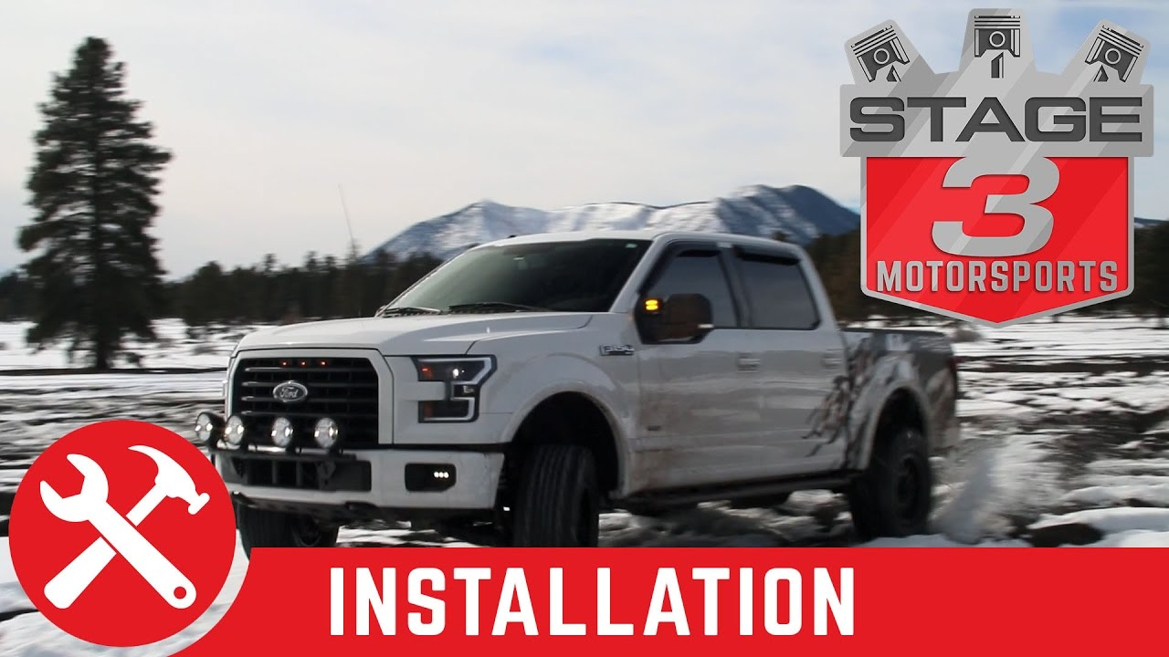 2015 2017 f150 n fab light bar with kc hilites 6 pro sport g6 rh youtube com 1986 Ford F-150 with KC Lights KC Lights for Ford F-150 Raptor