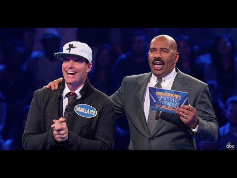 Vanilla Ice Fast Money – Celebrity Family Feud
