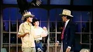 Jack Hannah @ The David Letterman Show 2