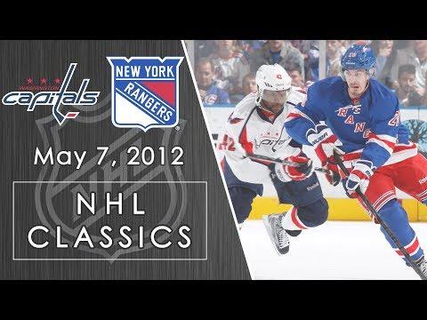 NHL Classics: Washington Capitals Vs. New York Rangers | 5/7/2012