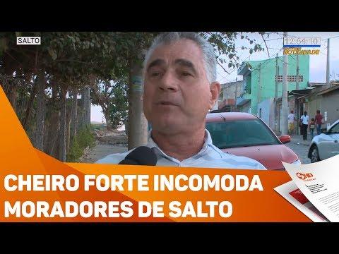 Cheiro forte incomoda moradores - TV SOROCABA/SBT