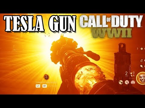 ELECTRIC TESLA GUN WONDER WEAPON ( COD WW2 ZOMBIES ) MAP: THE FINAL REICH
