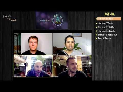 EOSRad.io #9 - Tokenika, EOS Asia, EOS Dublin, Thomas Cox Q&A