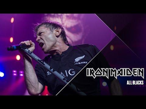 Iron Maiden: Bruce Dickinson recebe homenagem do time All Blacks