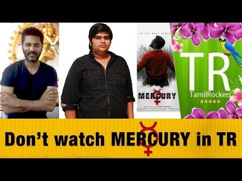 Prabhudeva's Request to Tamil Audience   #Mercury Movie   Karthik