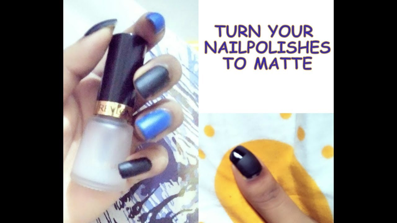 Revlon Matte Top Coat India | How To Make Nail Polish Matte | Pretty ...