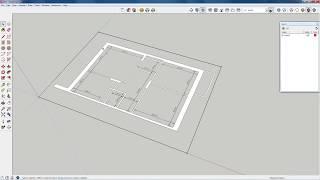 Создаем 3D модель квартиры по чертежу