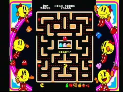 Namco Museum Ms. Pac-Man (Game Cube) Game Play