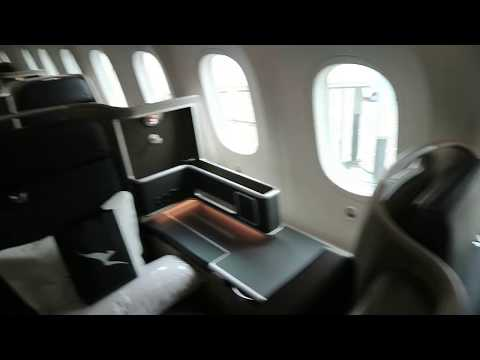 Qantas Business Class Review - Selecting The Best Seats
