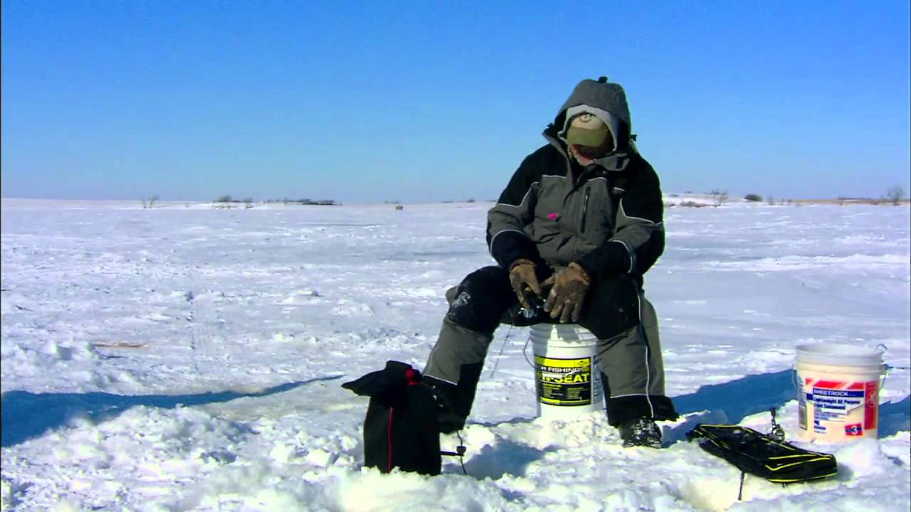 roy lake south dakota ice fishing youtube
