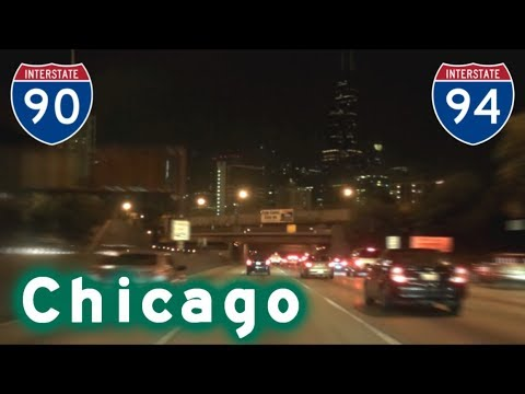 I-90 East to Chicago - Kennedy Expressway