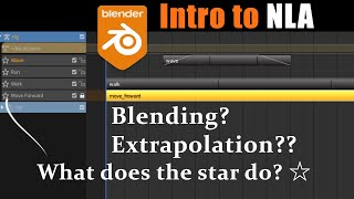 [Blender 2.8/2.9 ]Un-confusing The NLA Editor (Nonlinear Animation)