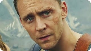 KONG: SKULL ISLAND Comic-Con Trailer (2017) Tom Hiddleston, Brie Larson King Kong Movie