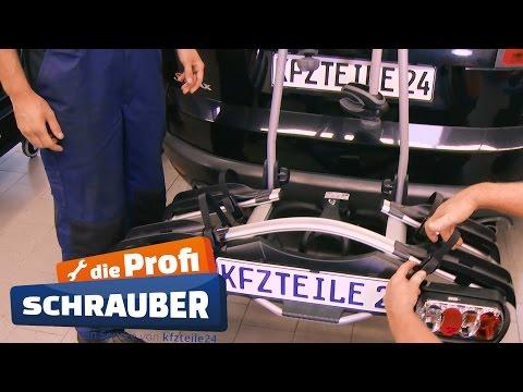 Fahrradträger An Anhängerkupplung Montieren Thule Tutorial Youtube