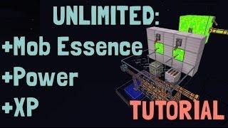 ► Minecraft - Attack Of The B-Team - Power + XP + Mob Essence (w/ EzrazWorld)