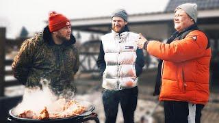 Щука не смогла проглотить живца Новое блюдо в садже Закрытие зимнего сезона Зимняя рыбалка 2021