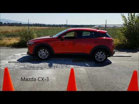 2018 Subaru Crosstrek AWD vs 2017 Mazda CX3 and 2017 Honda HRV