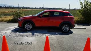 2018 Subaru Crosstrek AWD vs 2017 Mazda CX3 and  2017 Honda HRV