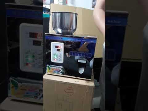 (達威包裝機械) 25g 光電與電腦控制分量機  粉末顆粒食品分裝機 咖啡/茶葉/顆粒/粉末_定量充填分裝機