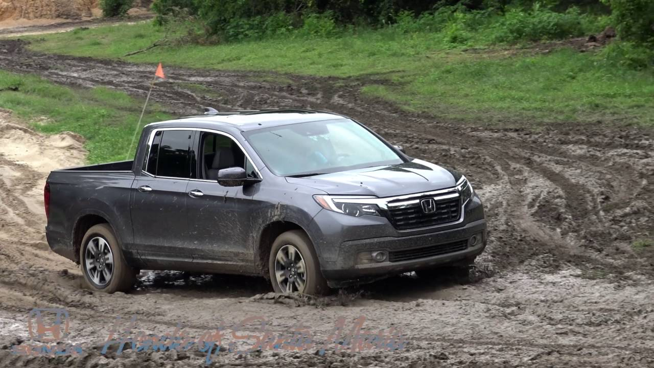 Honda Ridgeline Off Road >> 2017 Honda Ridgeline Offroad Course Highlights