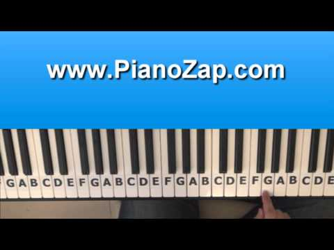 How To Play Take It All - Adele s On Piano Tutorial