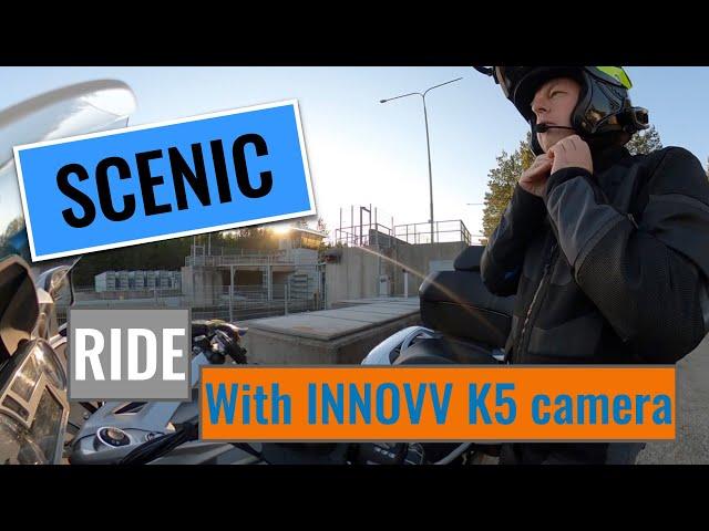Scenic Ride with BMW K1600GTL AND INNOVV K5 camera