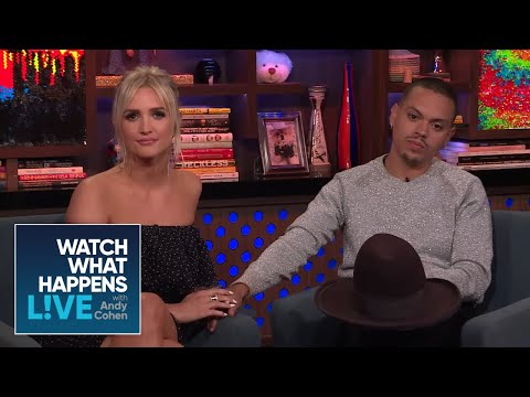 Evan Ross Is Friends With Ashlee Simpson's Exes | WWHL