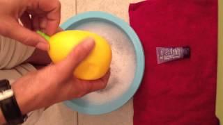 Soigner pieds avec citron:  Soin des pieds au citron - Astuce facile soin des pieds