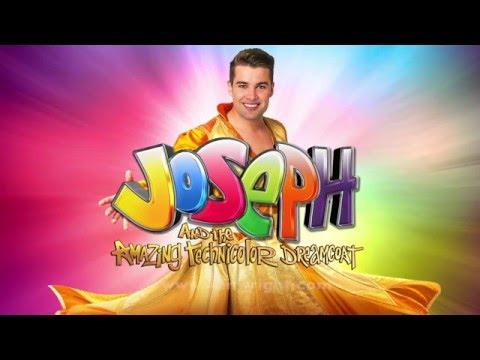 JOE IS JOSEPH... Joe McElderry in Joseph and the Amazing Technicolor Dreamcoat