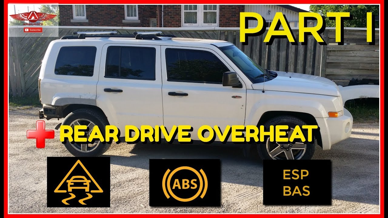 jeep patriot esp bas, abs, and traction control lights part i
