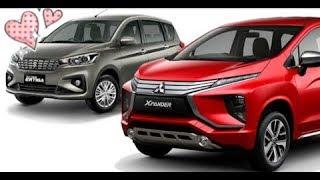 Mitsubishi Expander Mpv Vs Ertiga Crossover Comparison