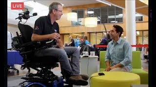 Invacare TDX SP2 on Power On: LIVE! | Invacare Power Wheelchair