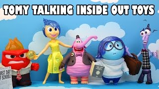 New Tomy Talking Inside Out Doll Review with Joy, Bing Bong, Fear, Sadness and Anger. DisneyToysFan.