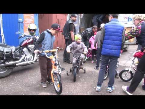 """2016 05 20 - """"Велосипеды детям"""". Акция велосообщества """"Кусты"""" (Лобня)"""