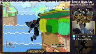 Bizzarro Flame Beating Level 9 Handicap 9 Ganondorf on Yoshi's Story [Ganon Challenge]
