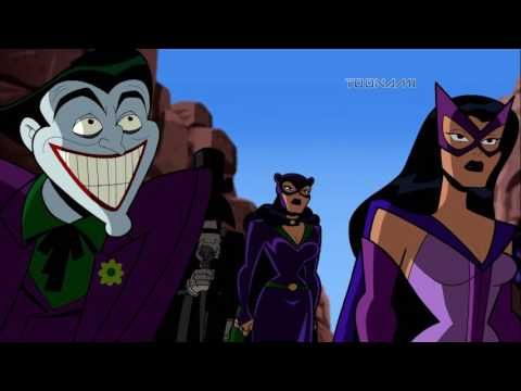 Batman: The Brave and the Bold -  Death Race To Oblivion (Clip 1)