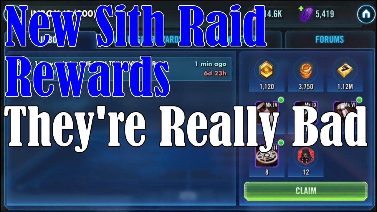 SWGOH Game Videos from McMole2 - The Icons (SWGOH Game Guild)