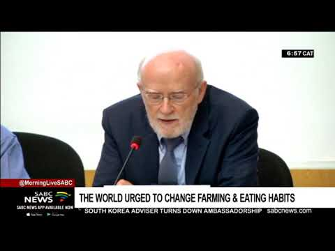UN Urges The World  To Change Farming, Eating Habits #climatechange