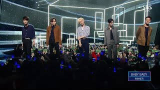 WINNER - 'BABY BABY' 0214 SBS Inkigayo