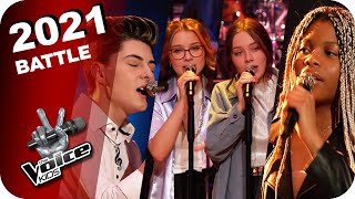 Alicia Keys - Empire State of Mind (Grace/Alicia&Jasmina/Sefidin) | The Voice Kids 2021 | Battles