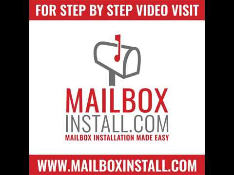 How to Assemble a Whitehall Capitol Mailbox and Post in 30 Seconds by MailboxInstall.com