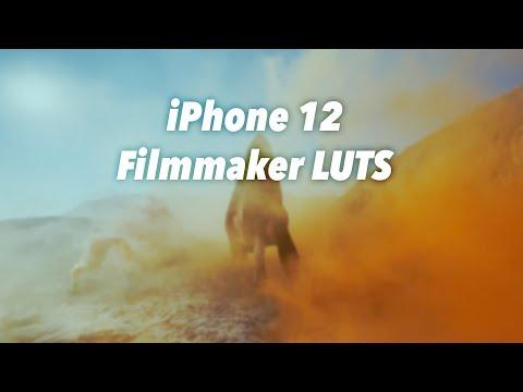 iPhone 12 Filmmakers LUTS