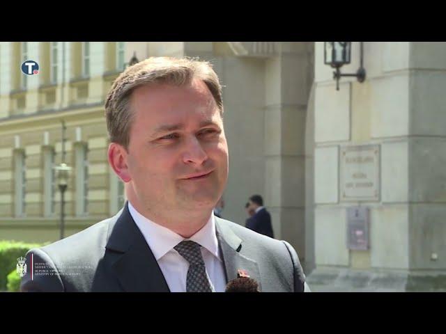 Селаковић: Приоритет Србије и Пољске економска сарадња