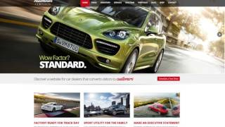 Automotive Car Dealership Business WordPress Theme