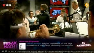 Licks & Brains ft. Frank Montis - Live My Life (live @ Nachtegiel 3FM)