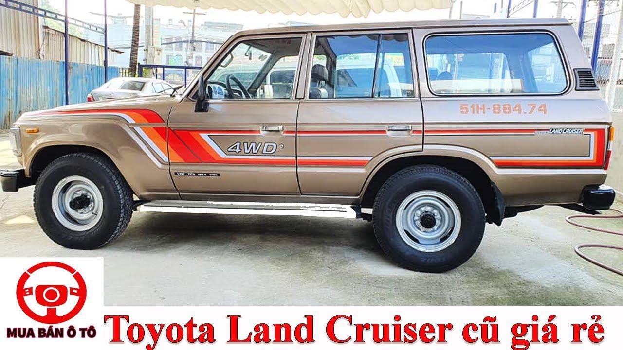 Xe 7 chỗ máy dầu giá rẻ Toyota Land Cruiser siêu bền, lấy về chỉ việc đi   Mua bán ô tô cũ Phúc Việt