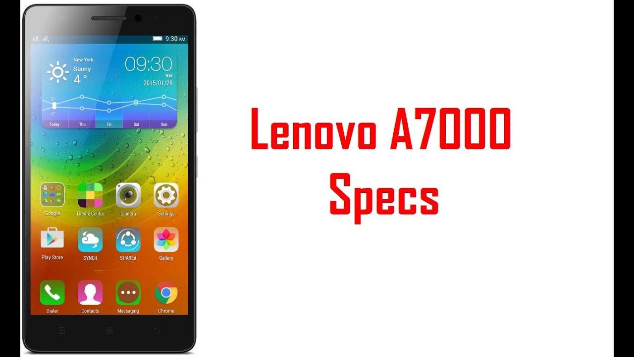 Lenovo A7000 Specs  U0026 Features