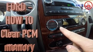 FORD - Clear/Reset PCM Memory