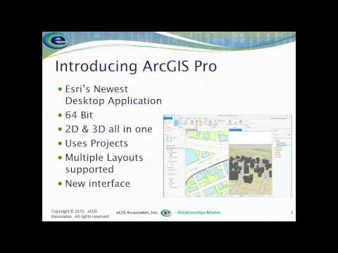 Managing Projects with ArcGIS Pro 1.1